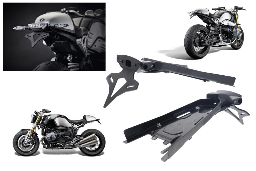 License plate holder BMW R nineT from Evotech Performance from 2013