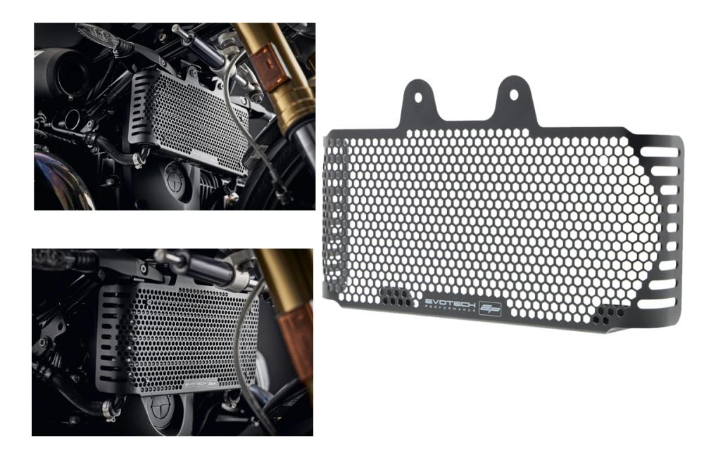 Oil cooler protection BMW R nineT by Evotech Performance from 2013