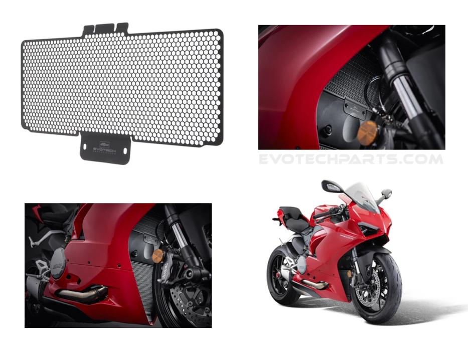 Ducati Panigale V2 radiator guard from 2020 by Evotech Performance