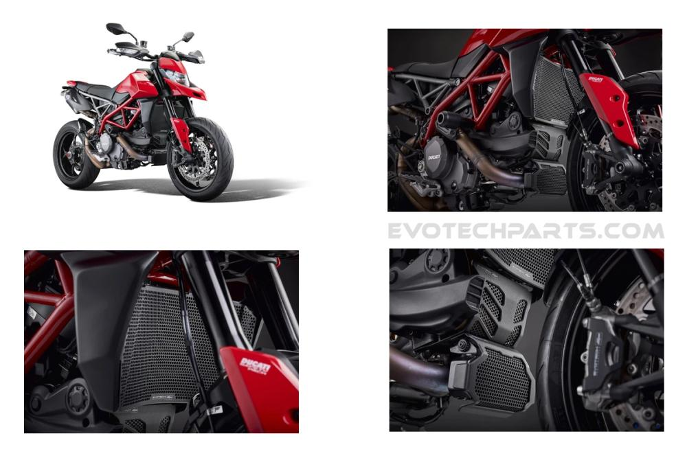 Ducati Hypermotard 950 SP Radiator, Engine And Oil Cooler Guard Set 2019+