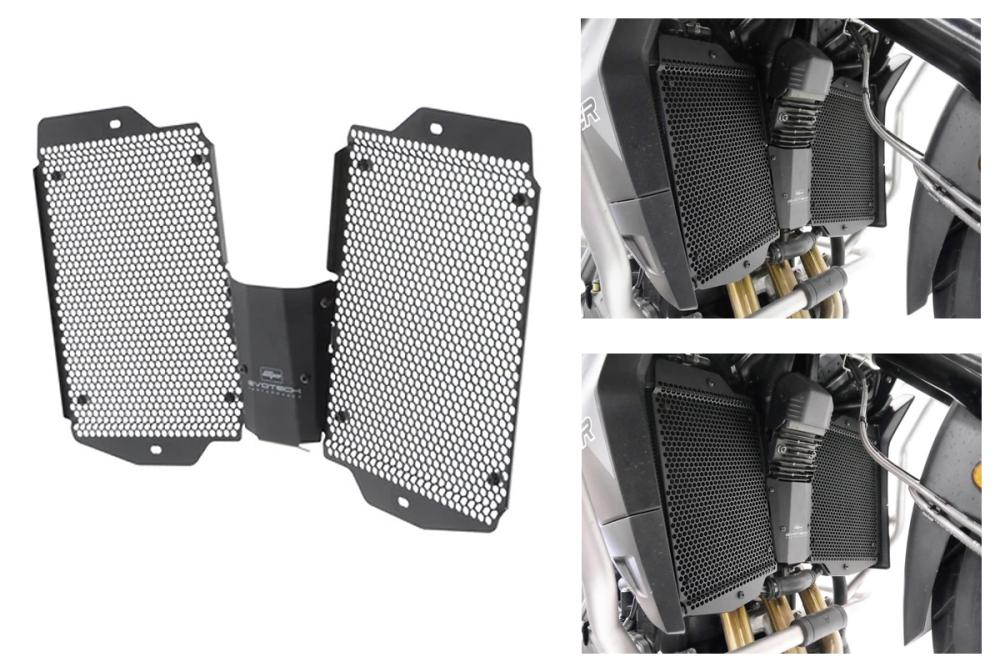 Radiator protection Triumph Tiger 900 / GT / Rally from 2020 by Evotech Performance