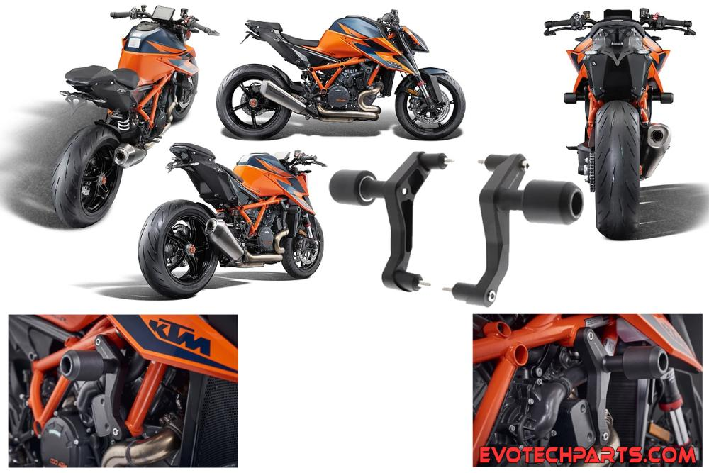 CRASH PROTEKTOR KTM 1290 R  up to 2020  Evotech Performance