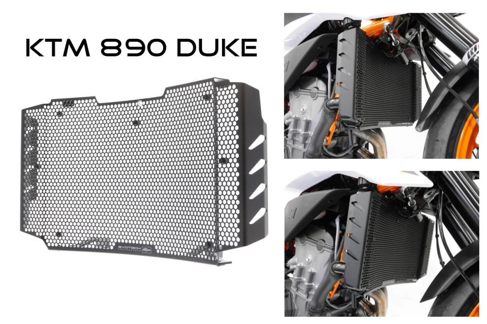 KTM 890  Radiator guard from  Evotech Performance