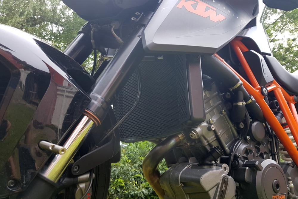 Radiator guard KTM 1290 SDR from 2014 - Evotech Performance