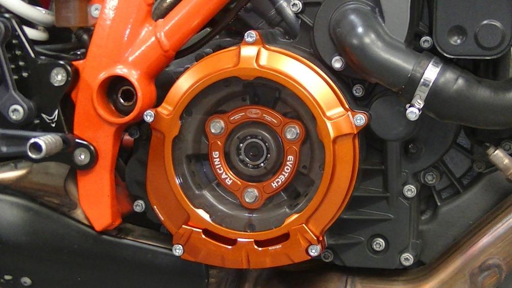 Protection for clutch cover - ORANGE - EVOTECH S.R.LProtection for clutch cover - ORANGE - EVOTECH S.R.L