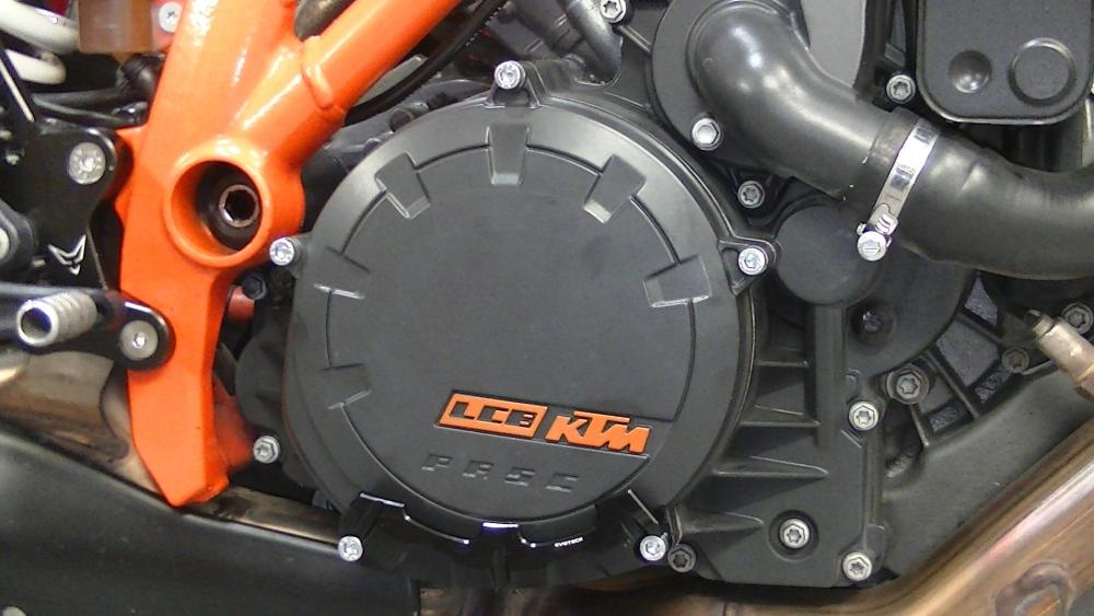 Protection for clutch cover - ORANGE - EVOTECH S.R.L