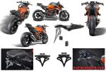 KTM 1290 SDR up to 2020 License plate holder  EVOTECH PERFOMANCE